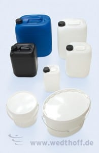 Industrieverpackung, Kunststoffverpackung, IBC Container, Kunststoffkanister
