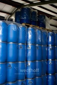 Kunststofffass / Kunststofffässer mit UN-Zulassung. Stabile Kunststofftonnen in 220 Liter + andere größen