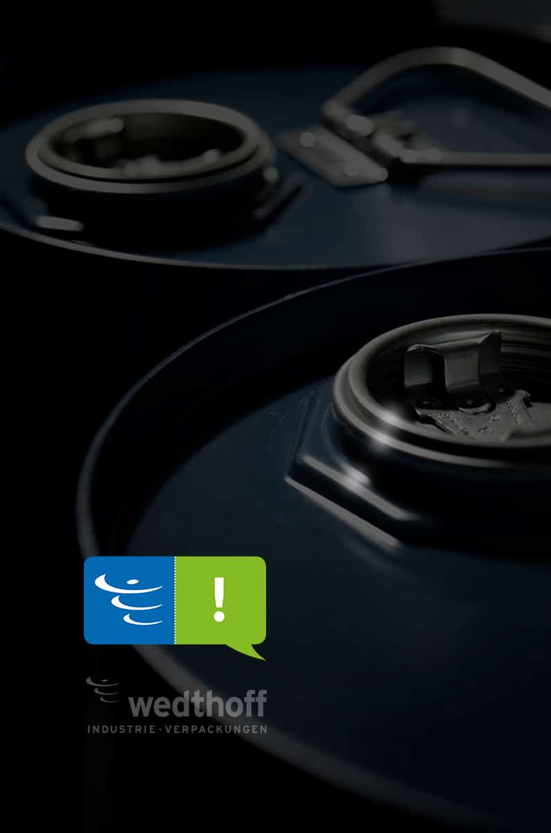 Kombifass / Kombifässer, Gefahrgutverpackungen by WEDTHOFF