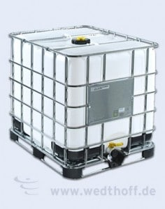 IBC Container – WEDTHOFF Industrieverpackung, Kunststoffverpackungen, Plastikfass, Deckelfass,