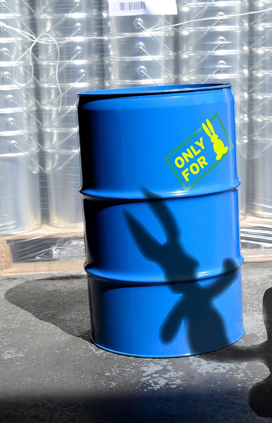 Industrieverpackung, Stahblechverpackung, Spundbehälter, Stahlfässer, Stahlfass, Deckelfass by WEDTHOFF Osterhase