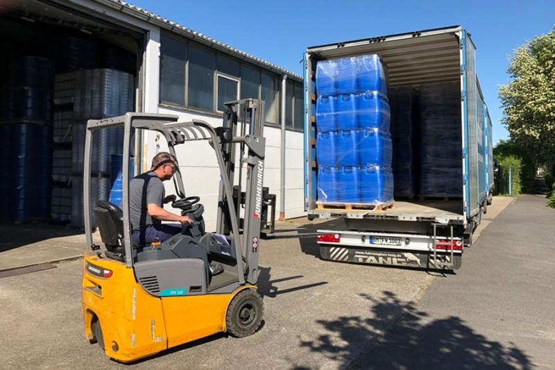 WEDTHOFF Industrieverpackungen + Gefahrgutverpackung Großhandel, Lieferung / Lieferservice, Shop