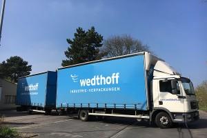 Stellenangebot, Job, Festanstellung 03 - LKW Fahrer, Trucker NRW by WEDTHOFF Industrieverpackungen