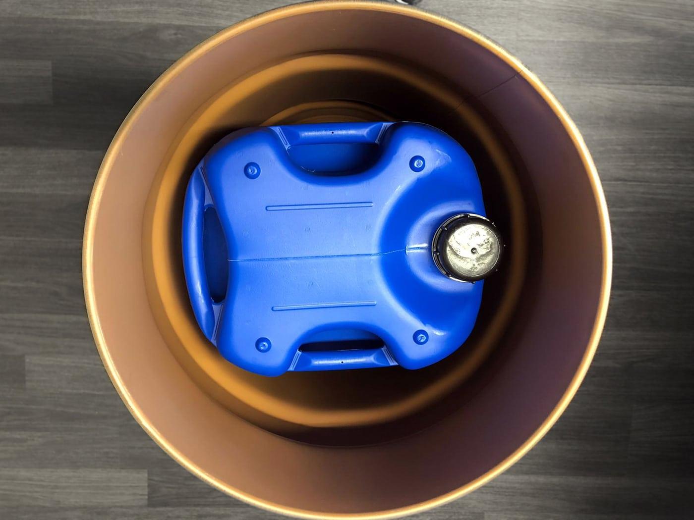 Bergungsfass 123 Liter günstig. Bergung Kanister. Gefahrgutverpackung by WEDTHOFF