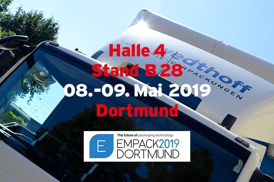Empack 2019, Specials: Edelstahlfässer + Bergungsverpackungen by Wedthoff, Köln NRW