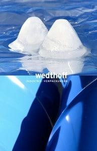Ice Bucket Challenge @ WEDTHOFF Industrieverpackungen. Großhandel und Spezialist für Gefahrgutverpackungen und Bergungsverpackungen NRW