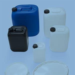 Gefahrgutverpackungen aus Kunststoff kaufen von WEDTHOFF: Kunststoff-Kanister und Eimer