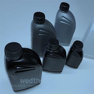 Gefahrgutverpackungen aus Kunststoff von WEDTHOFF: Ölflaschen für die Industrie , unterschiedliche Größen+Farben, Leer