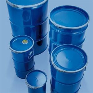 Gefahrgutverpackungen aus Stahlblech von WEDTHOFF: Hochwertige Fässer mit Deckel, umfangreiches Sortiment, (200l Fass)