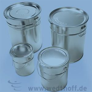Gefahrgutverpackungen aus Weißblech kaufen von WEDTHOFF: Hobbocks in unterschiedlichen Größen