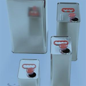 Gefahrgutverpackungen aus Weißblech kaufen von WEDTHOFF: Kanister in unterschiedlichen Größen