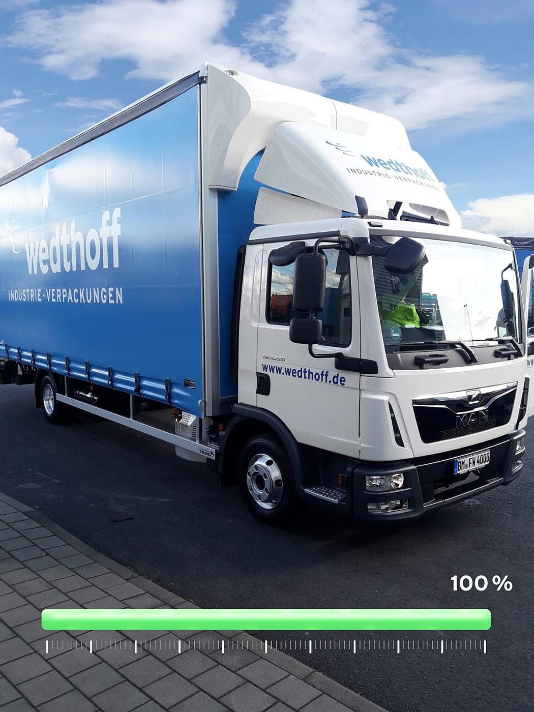 WEDTHOFF Industrieverpackungen. Lieferungen der Gefahrgutverpackunegn komplett mit Euro Norm 4. Grüne Zonen in NRW wir kommen