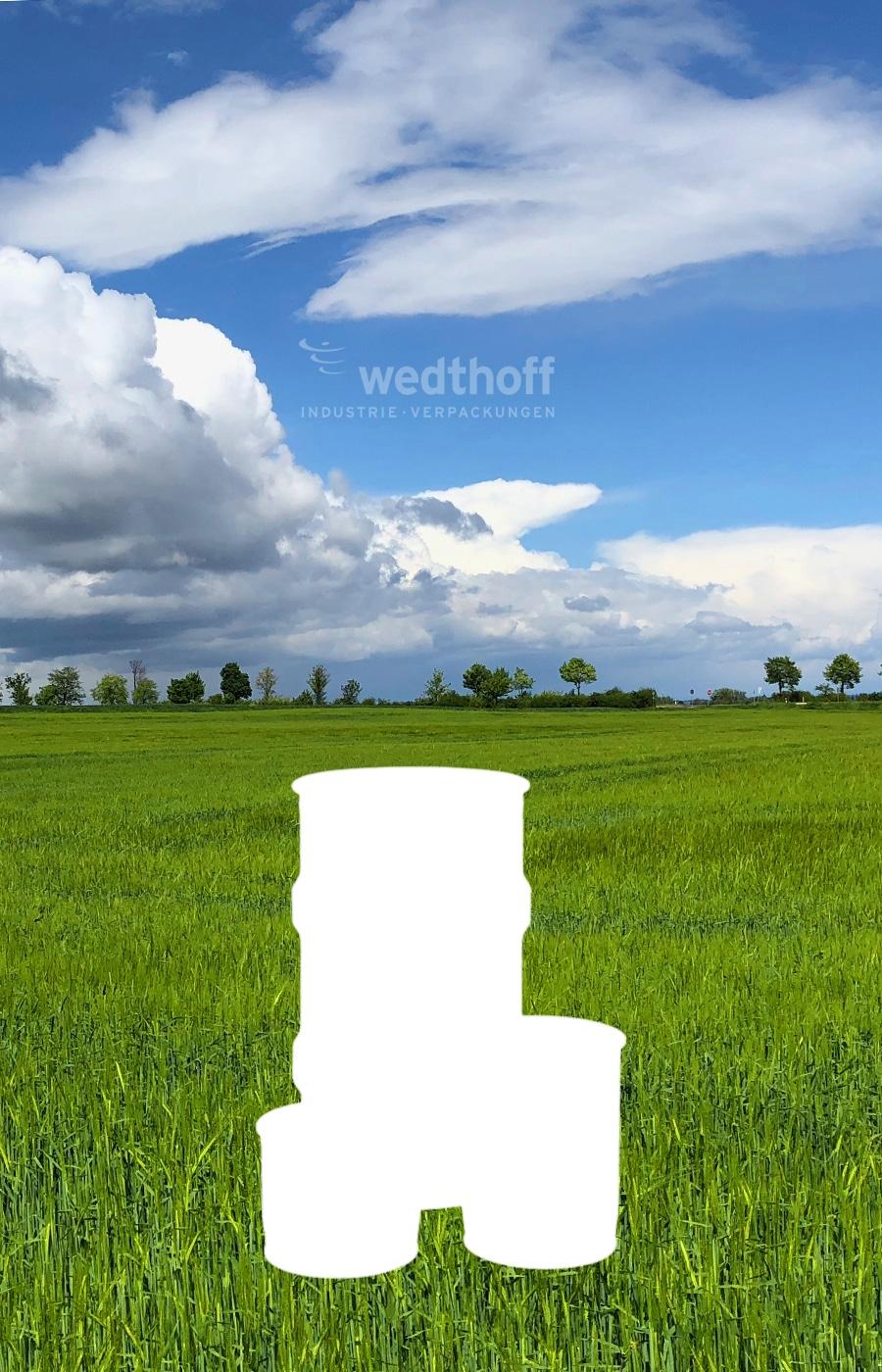 Bergungsfässer / Bergungsverpackungen mit Fass Volumen 6 - 12 - 60 -123 -320 Liter. T-Codierung. Deutsche Fabrikation von WEDTHOFF Industrieverpackungen