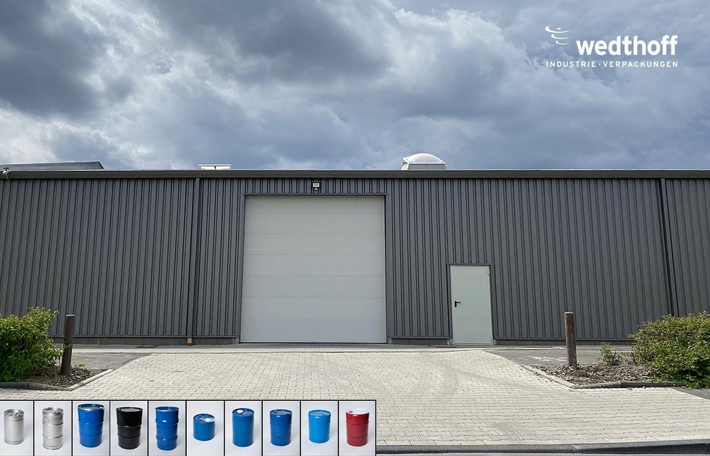 Modernes Lager 01. WEDTHOFF Industrieverpackungen + Gefahrgutverpackungen in Köln Bonn NRW. Optimaler Lieferservice