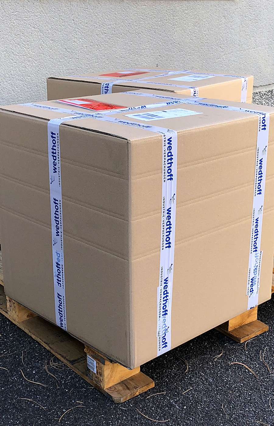 Industrieverpackungen kaufen - Ab Lager auch in Sondergrößen verfügbar. Kleine Stückmengen möglich. Lieferung Bundesweit