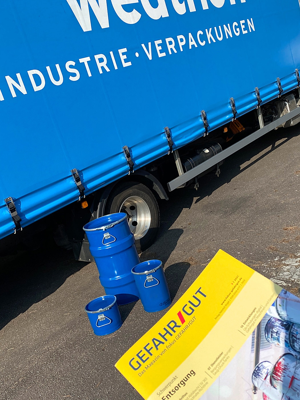 WEDTHOFF Industrieverpackungen Gefahrgutverpackungen Services +