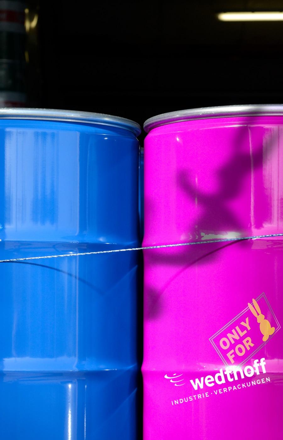 Industrieverpackungen, Gefahrgutverpackungen und das Wedthoff-Portfolio im Ostern Film 2021