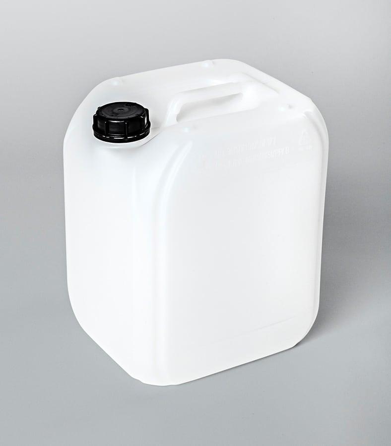 Kunststoffkanister Kanister weiß KPE20-06_WEDTHOFF Industrieverpackungen