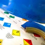 Gefahrgutklassen 1-9 für Gefahrgutverpackungen